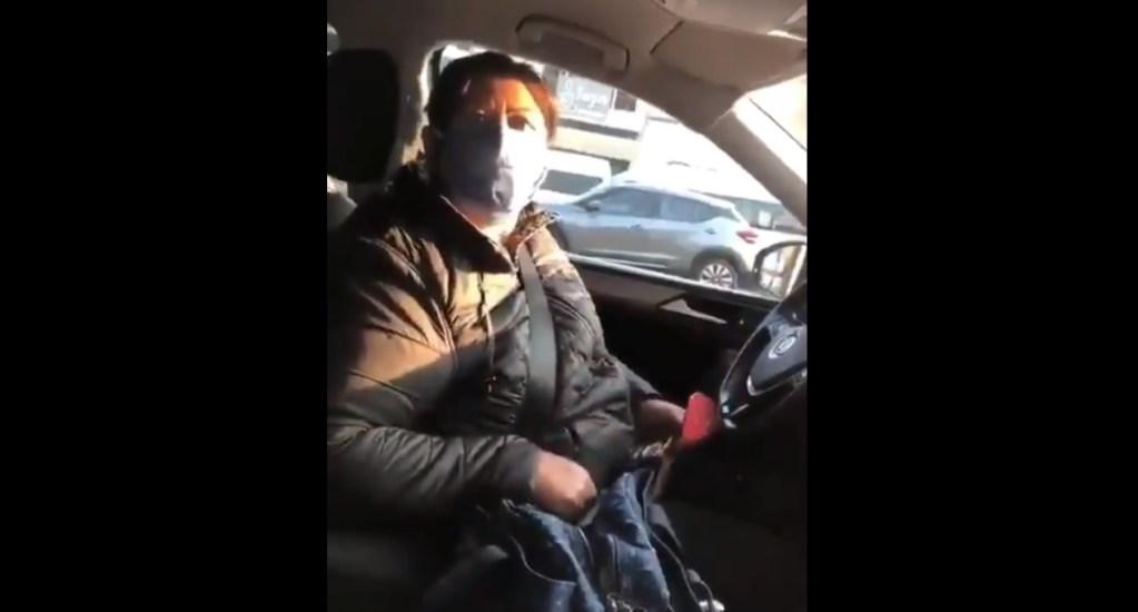 #Video Diputada de Morena muestra credencial para evadir el Hoy No Circula - Diputada Juana Carrillo Luna Hoy No Circula