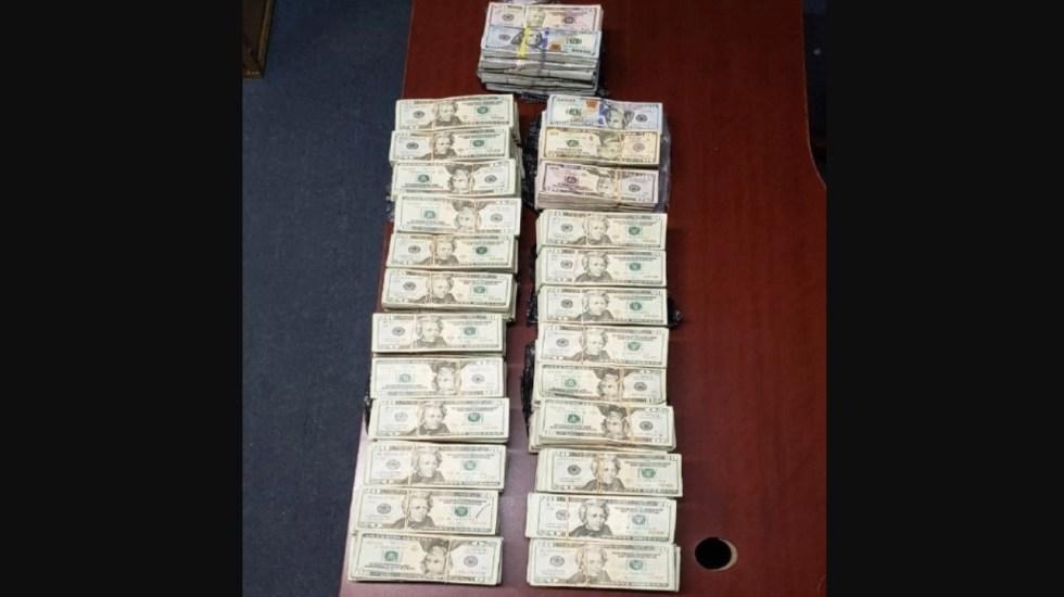 Sedena decomisa 50 mil 450 dólares en camión en Sonora - Foto de Sedena