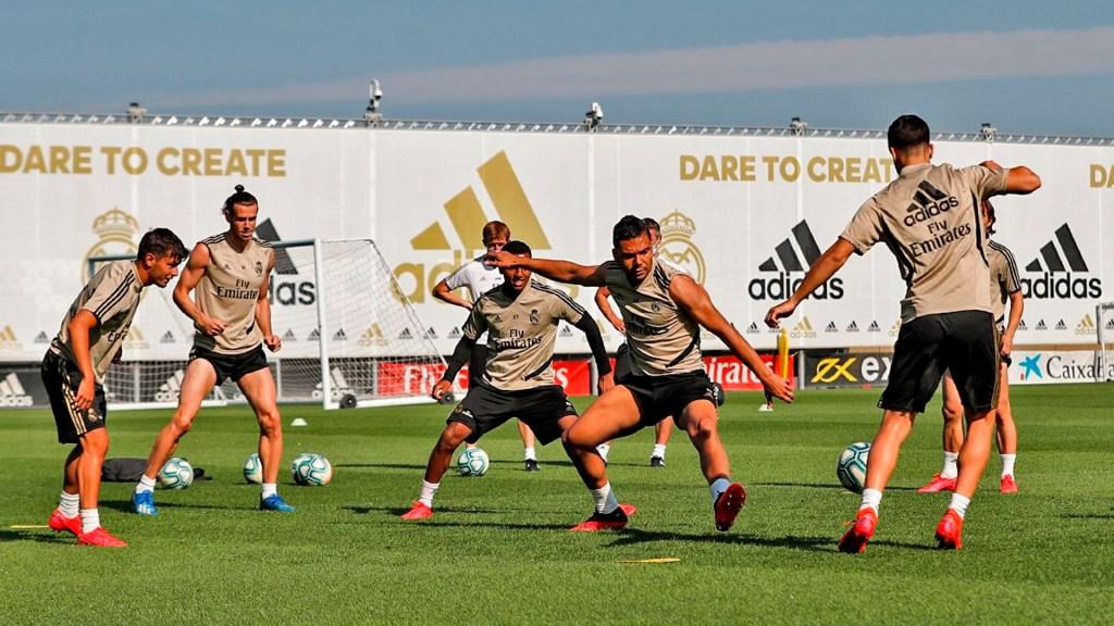 Real Madrid completa segunda semana de entrenamientos - entrenamiento real madrid