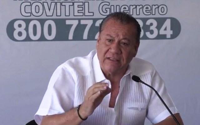 Secretario de Turismo de Guerrero sufre infarto - Ernesto Rodríguez Escalona, secretario de Turismo de Guerrero. Foto de @erescalona11