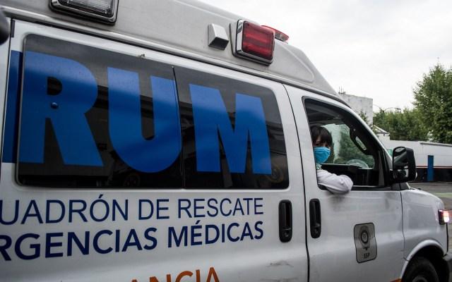 Únicamente cuatro hospitales tienen disponibilidad de camas en la Ciudad de México - Foto de Notimex