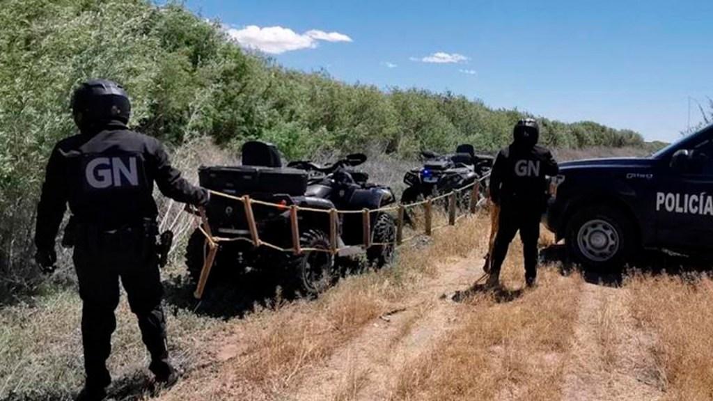 Guardia Nacional y Patrulla Fronteriza inhabilitan escaleras para paso de migrantes - escaleras el Paso Texas