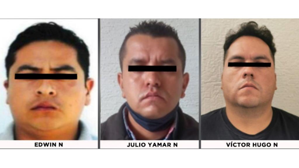 Vinculan a proceso a tres exagentes de la FGR por robo a casa en Valle Escondido - FGR Agentes detenidos Valle Escondido Estado de México