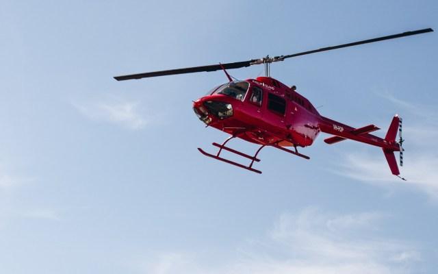 Bendicen a Guadalajara desde un helicóptero - Helicóptero vehículo aeronave