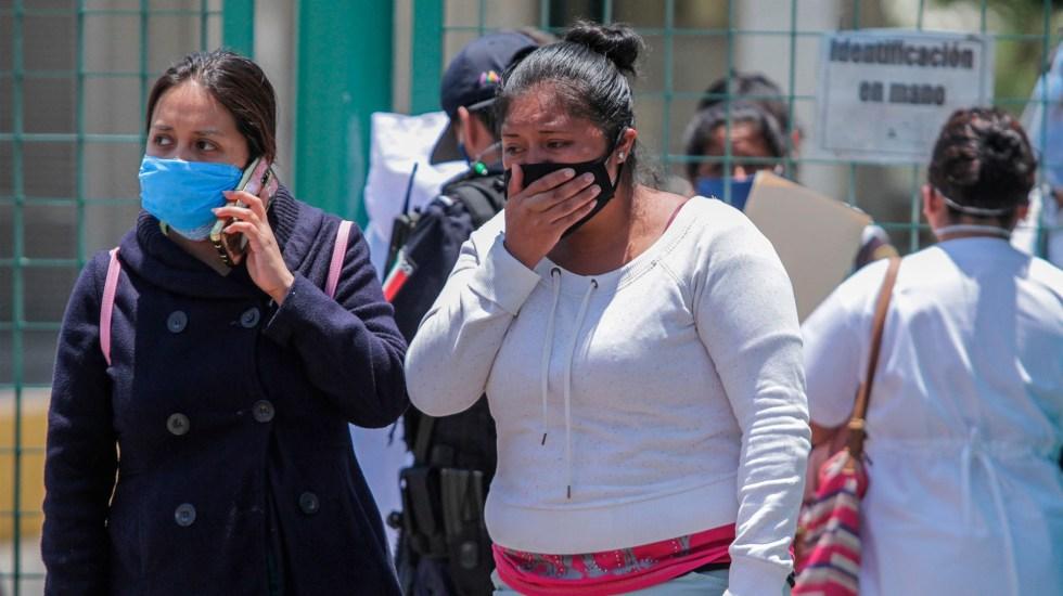 Pacientes de hospital de Las Américas de Ecatepec se comunican con familiares por videollamadas - hospital ecatepec coronavirus COVID-19