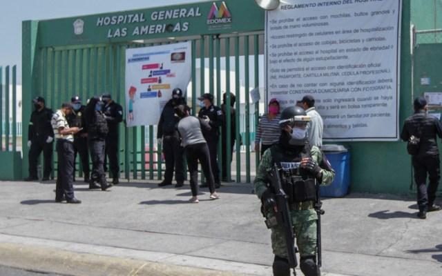 """Darán informes clínicos por videollamadas en Hospital """"Las Américas"""" de Ecatepec - Foto de Notimex"""