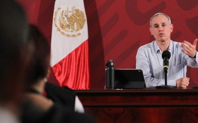 Críticas a López-Gatell son con afán político-electoral: AMLO - Foto de Notimex
