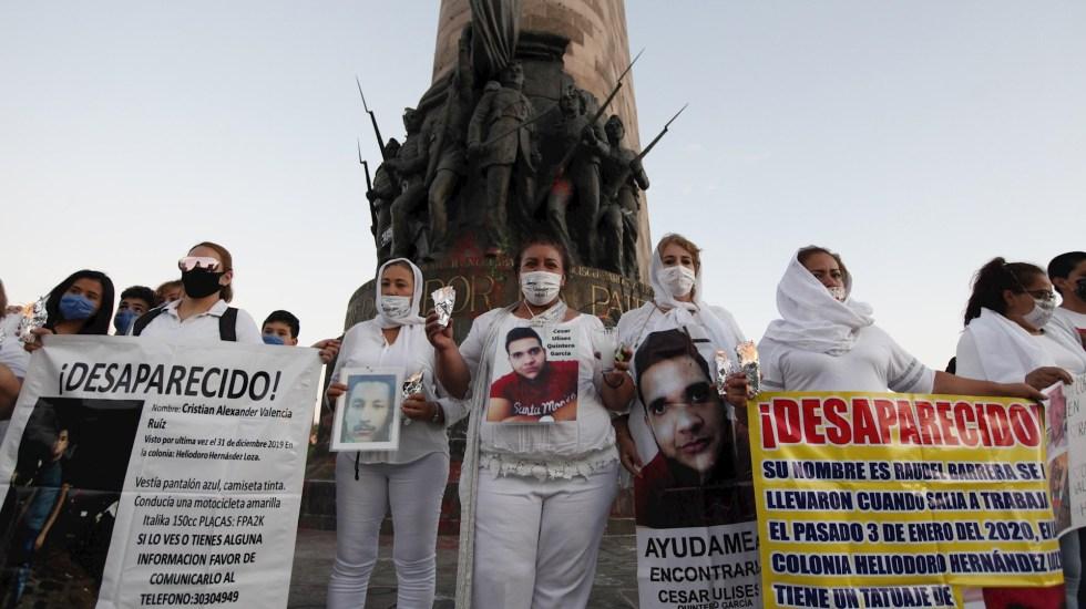 ONU pide a México continuar búsqueda de desaparecidos durante pandemia - Jalisco desaparecidos madres protesta manifestación