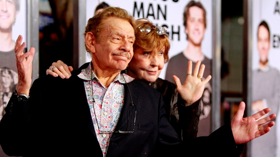 "Murió a los 92 años Jerry Stiller, actor de ""Seinfeld"" - Jerry Stiller"