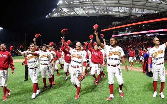 Diablos Rojos se preparan para posible inicio de temporada 2020 en agosto - Jugadores de los Diablos Rojos del México. Foto de @DiablosRojosMX