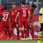 Bayern se lleva el clásico ante el Dortmund y apunta a nuevo título