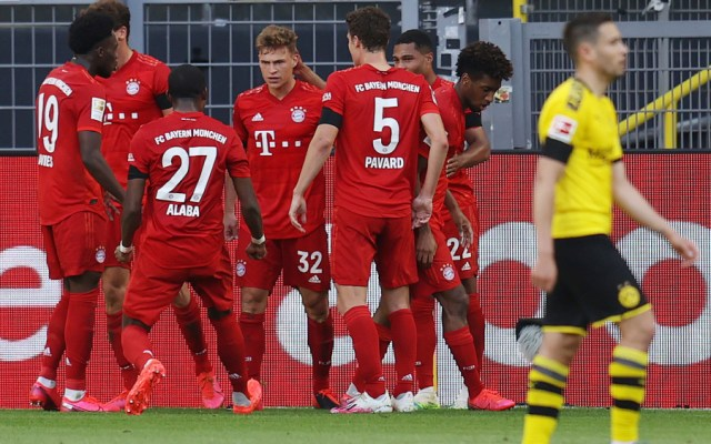 Bayern se lleva el clásico ante el Dortmund y apunta a nuevo título - Foto de EFE