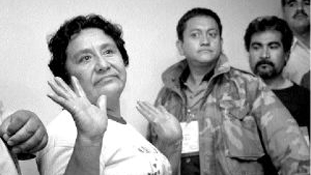 Murió Guadalupe Buendía, 'La Loba' de Chimalhuacán - 'La Loba' de Chimalhuacán. Foto de La Jornada
