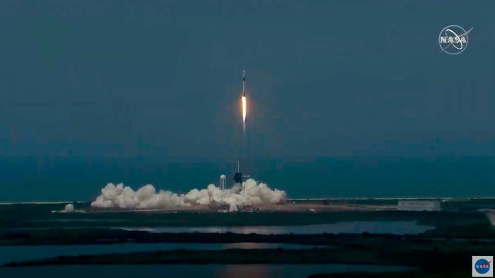 Exitoso lanzamiento de la NASA y Space X - lanzamiento falcon 9