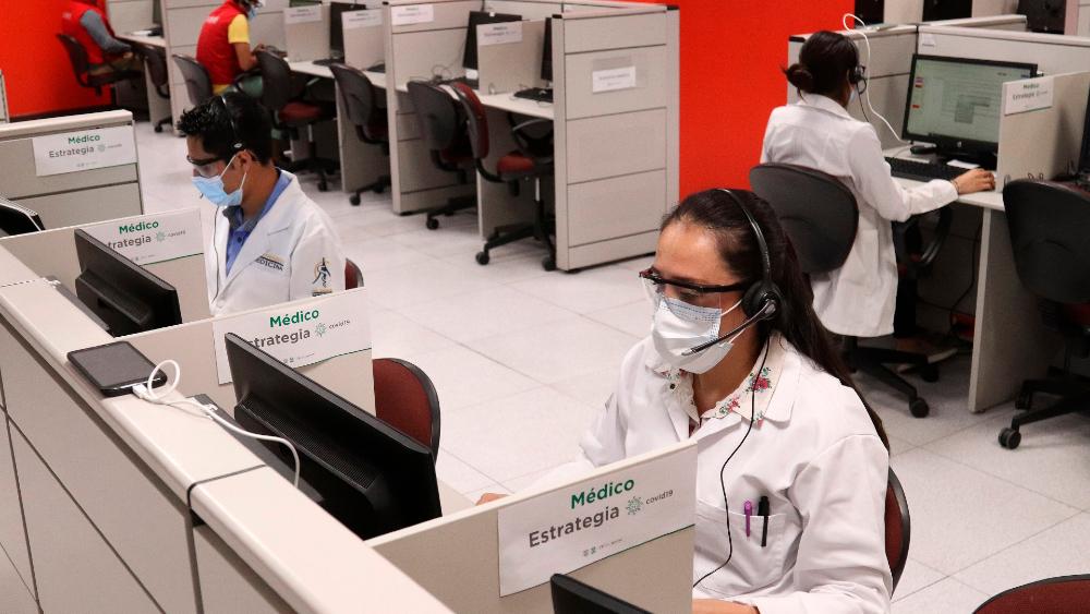Ciudad de México se apoya en la tecnología para no saturar sus hospitales - Foto de EFE