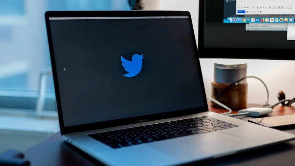 AMLO confirma que Twitter México informará sobre 'bots' en Palacio Nacional - Logo de Twitter en laptop. Foto de Yucel Moran / Unsplash