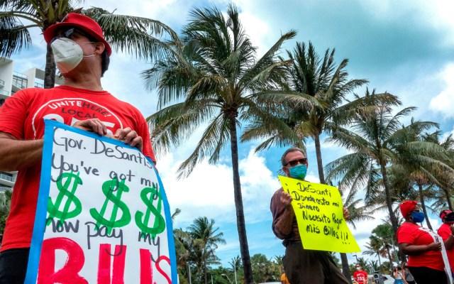Florida llega a los 50 mil casos de COVID-19 - Florida llega a los 50 mil casos de COVID-19