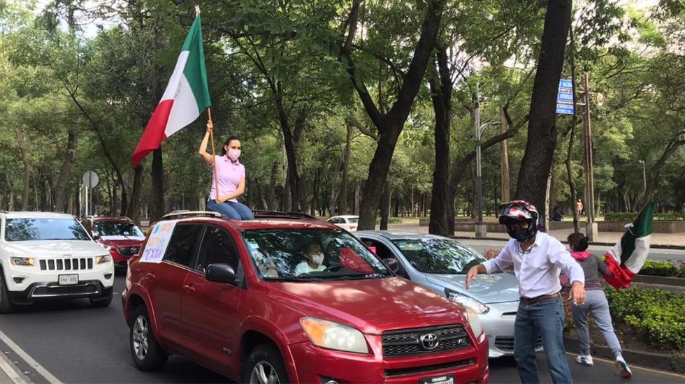 Protestan contra políticas de López Obrador en 70 ciudades de México - Foto de @poloespejel