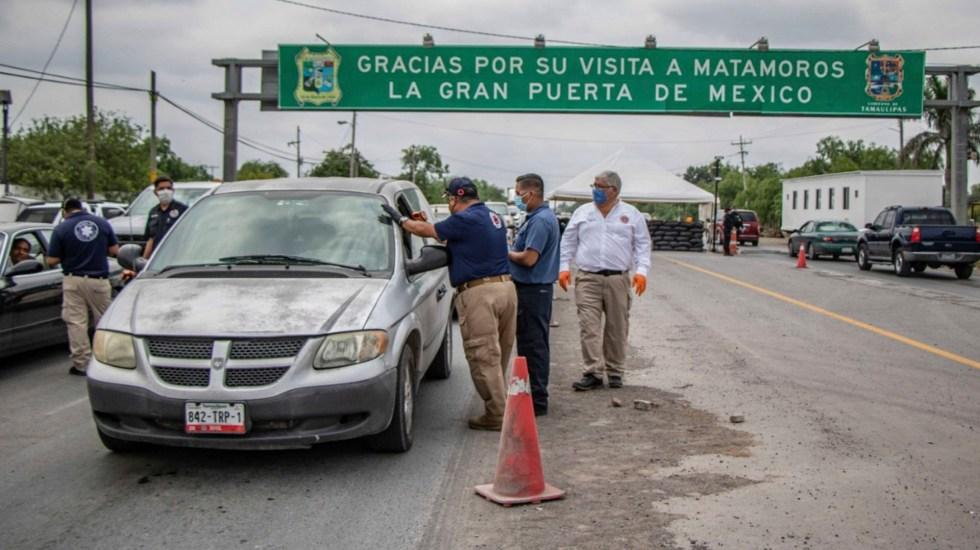 Retornan a Texas a 70 automovilistas por desacatar medidas sanitarias en Matamoros - matamoros texas