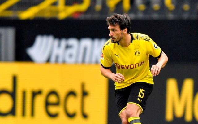 Mats Hummels en duda para enfrentar al Bayern - Foto de EFE