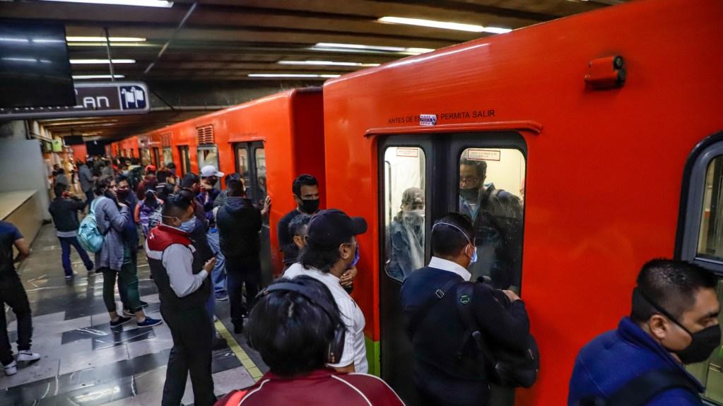 Metro cierra estaciones en el Centro Histórico por 10 de Mayo - Imagen ilustrativa del Metro de la Ciudad de México en tiempos de contingencia por COVID-19. Foto de Notimex-Quetzalli Blanco.