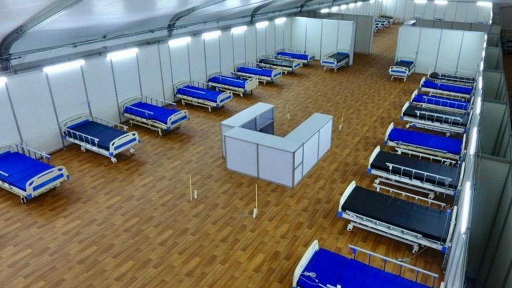 Hospital móvil en Monclova continuará operaciones tras pandemia - Monclova Hospital móvil IMSS