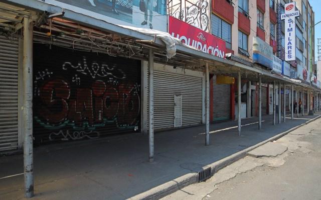 Negocios en México pierden 590 mil mdp por COVID-19 - Negocios cerrados por crisis económica del COVID-19. Foto de Notimex