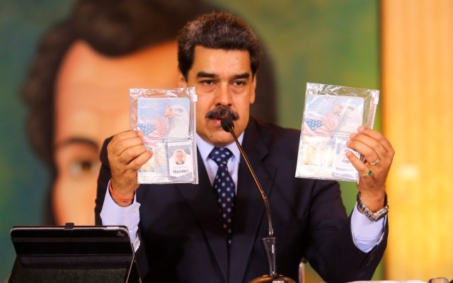 Senadores estadounidenses piden a Trump aclarar intentos de ataque a Maduro - Foto de EFE