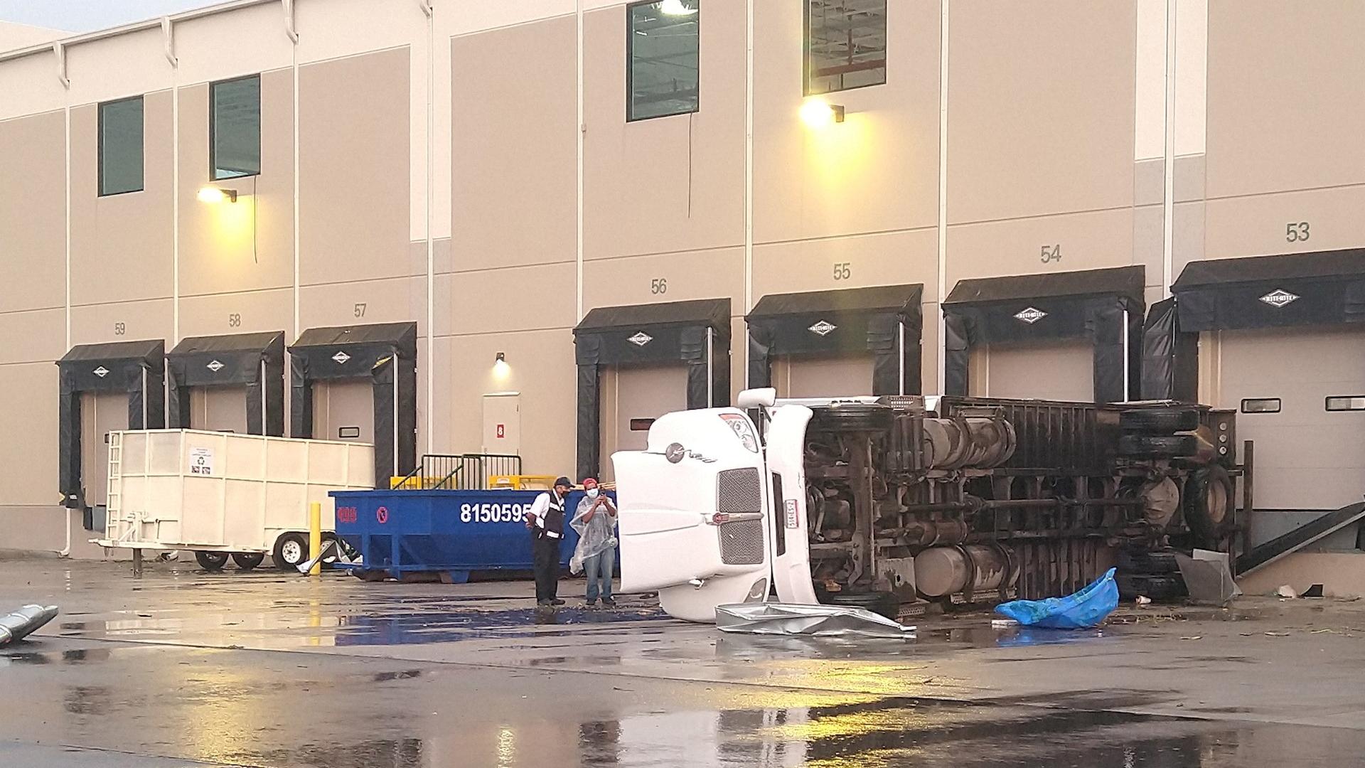 Tornado en Apodaca, Nuevo León, dejó un muerto