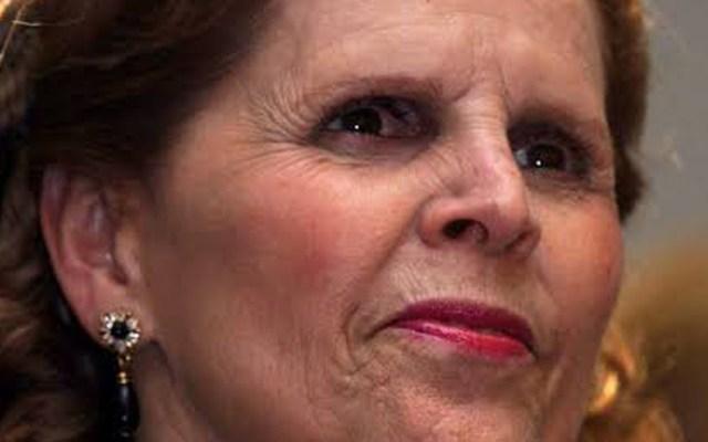 Murió Paloma Cordero, esposa del expresidente Miguel de la Madrid - Paloma Cordero. Foto de @CSaizar