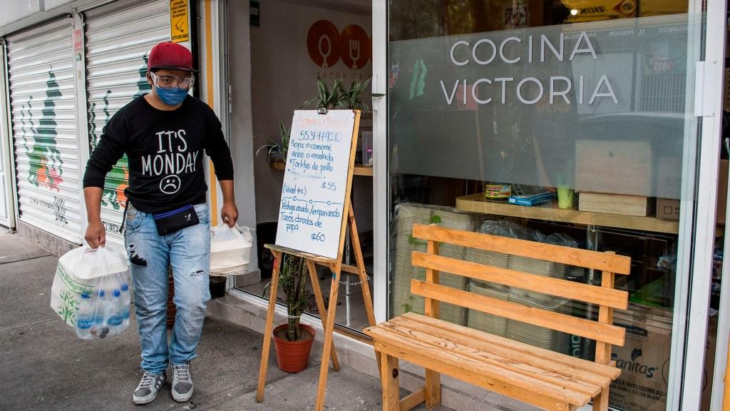 Actividad económica en México cayó 2.6 por ciento anual en marzo; liga 11 contracciones consecutivas - Actividad Económica PIB negocio coronavirus COVID-19