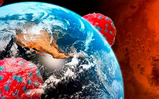 Viajes espaciales provocarían intercambio de virus entre la Tierra y Marte - piedras marte tierra virus