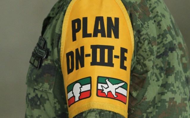 Inician Plan DN-III-E y Plan Marina para reforzar estrategia contra COVID-19 - Foto de Notimex