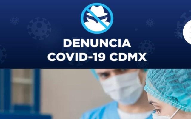 Crean sitio web para denunciar abusos e irregularidades ante COVID-19 - Portal denuncia COVID-19. Foto de @LuisMendozaBJ