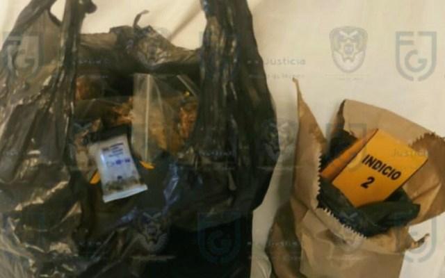 Aseguran en la Miguel Hidalgo a mujer en posesión de mariguana - Presunta droga decomisada a mujer en la Miguel Hidalgo. Foto de @FiscaliaCDMX