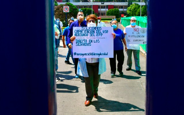 Descarta AMLO falta de insumos médicos en hospitales - Foto de EFE