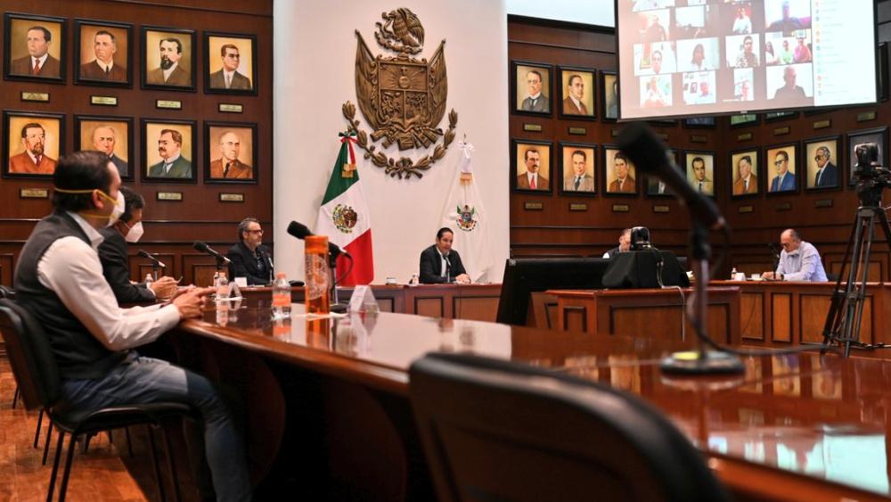 Querétaro anuncia medidas extraordinarias para mitigar el COVID-19 - Foto de @PanchDominguez