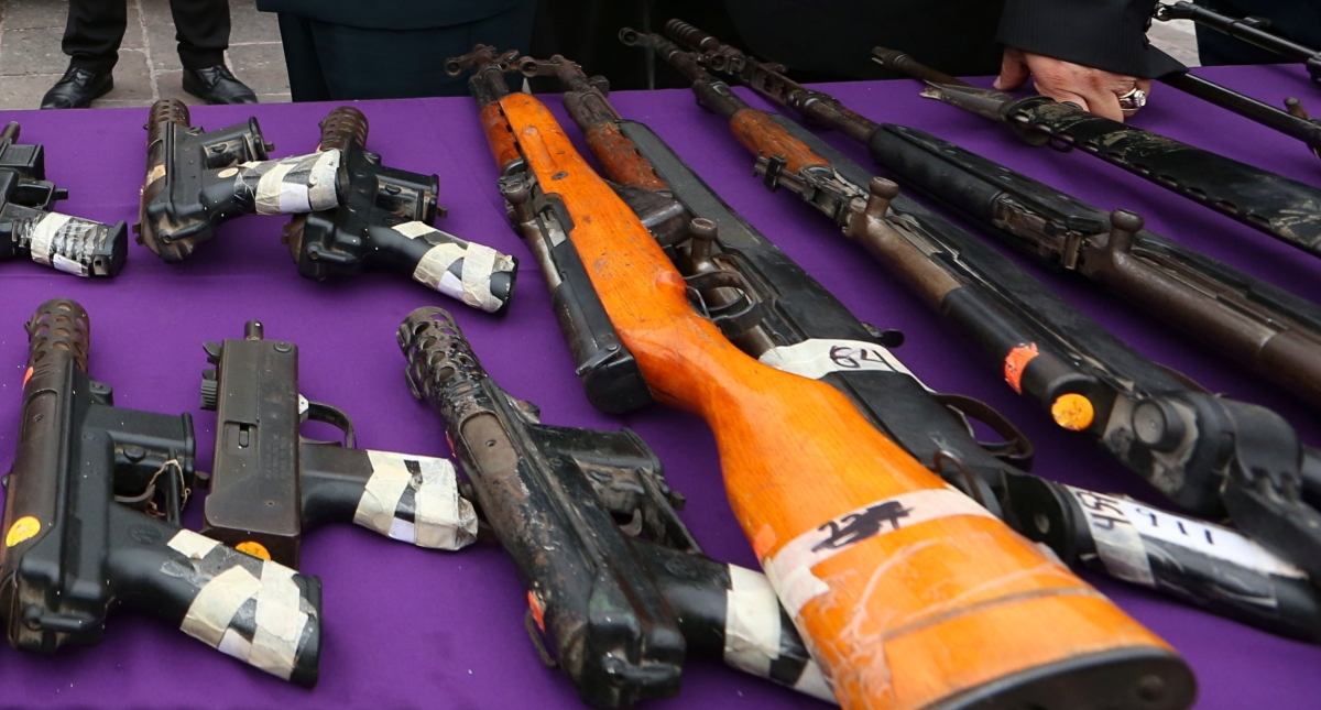 Rápido y furioso armas arsenal