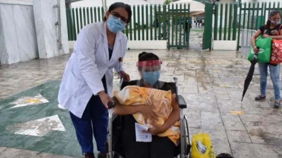 Recién nacida supera al COVID-19 en Nuevo León - Recién nacida hospital Nuevo León COVID-19