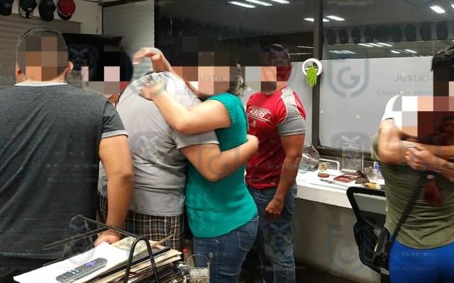 Enfermeros del IMSS aseguran que sí fueron víctimas de secuestro en Tacubaya - Rescate de personal de salud del IMSS víctima de extorsión en la CDMX. Foto de @ErnestinaGodoy_