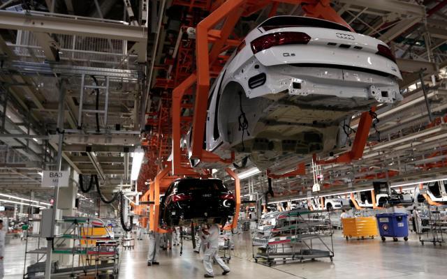 Exportaciones caen 19.5 por ciento en el primer semestre de 2020 - Sector automotriz en México