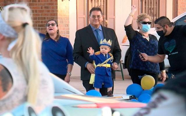 Celebran primer cumpleaños de sobreviviente del tiroteo en El Paso, Texas - sobreviviente del tiroteo en El Paso