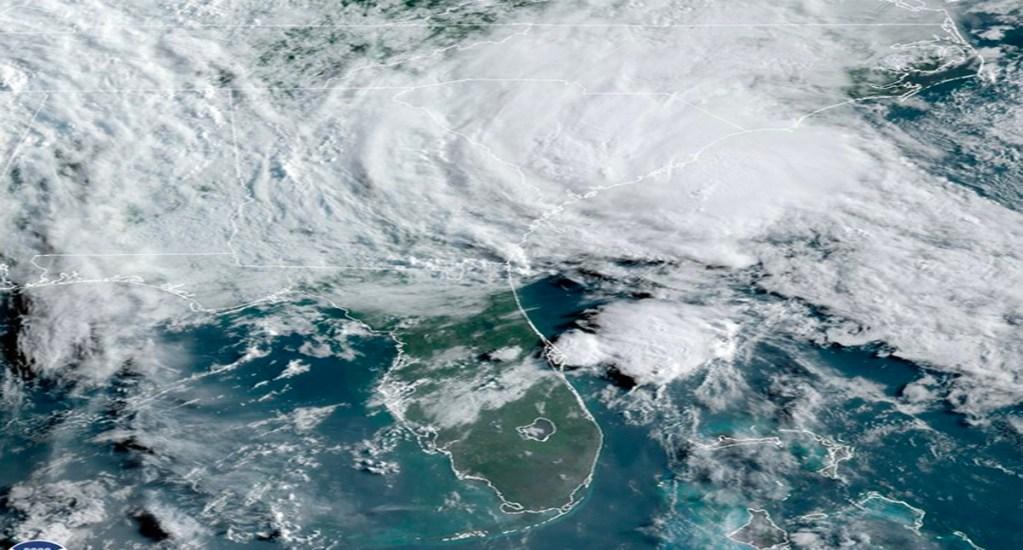 Se forma tormenta tropical Bertha; tocará tierra este miércoles en Carolina del Sur - El Centro Nacional de Huracanes (NHC) de Estados Unidos prevé fuertes vientos, lluvias e inundaciones en la costa de Carolina del Sur