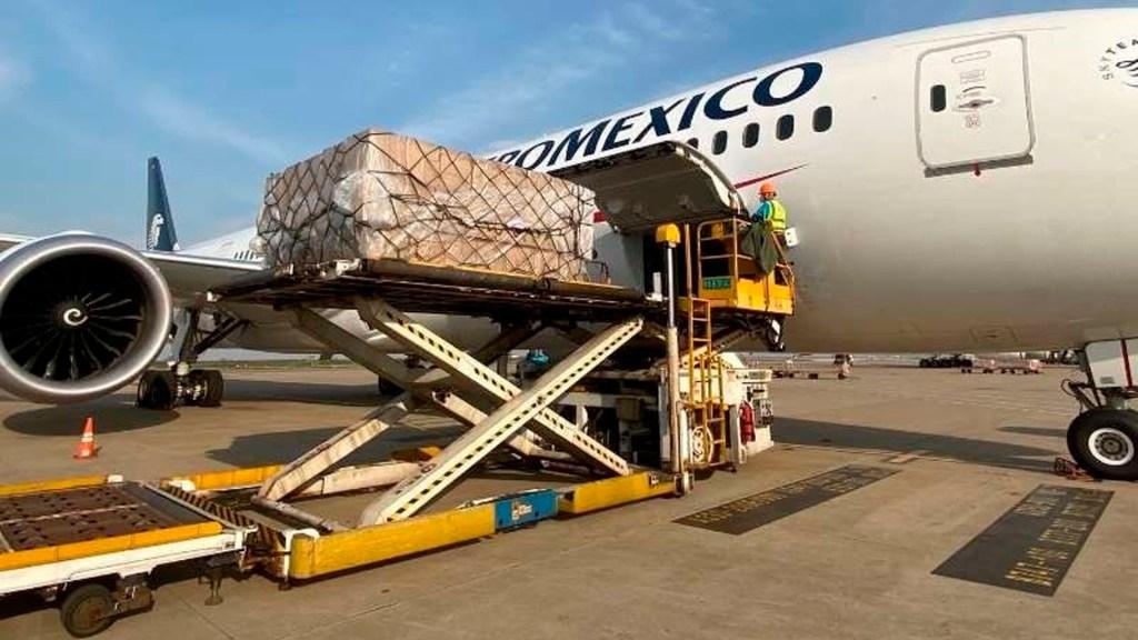 Alistan noveno vuelo con insumos médicos procedentes de China - vuelo China México coronavirus COVID-19