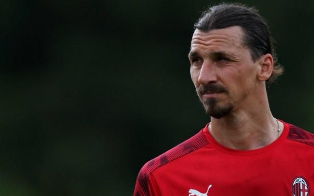 Zlatan Ibrahimović regresa a entrenar con el AC Milán - Zlatan Ibrahimović entrenamiento AC Milán 2