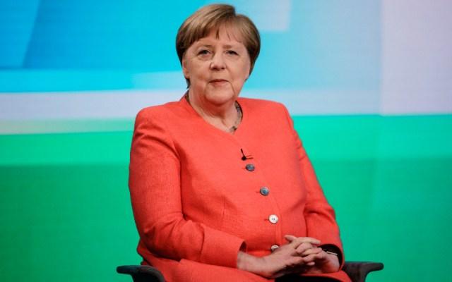 """Merkel insiste que no optará a otro mandato pese a la """"situación excepcional"""" - Foto de EFE"""