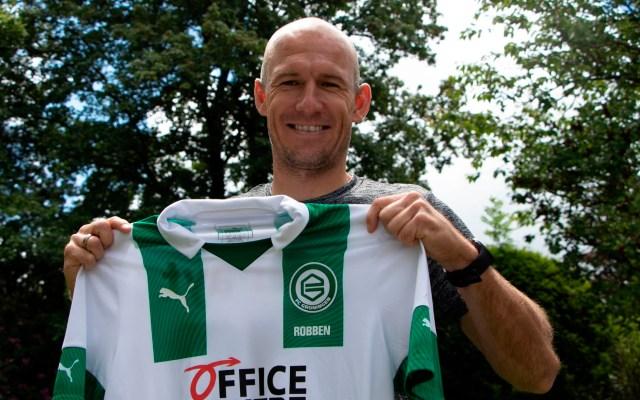 Robben afirma estar dispuesto a regresar del retiro para ayudar al Groningen - Arjen Robben Groningen