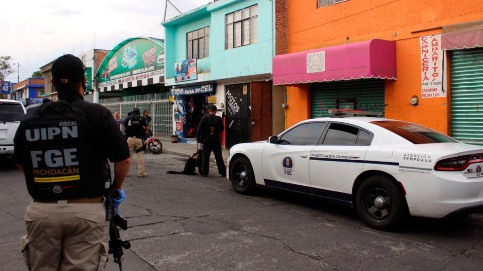 Asesinan en Michoacán a dos mandos policiales - Asesinan en Michoacán a dos mandos policiales