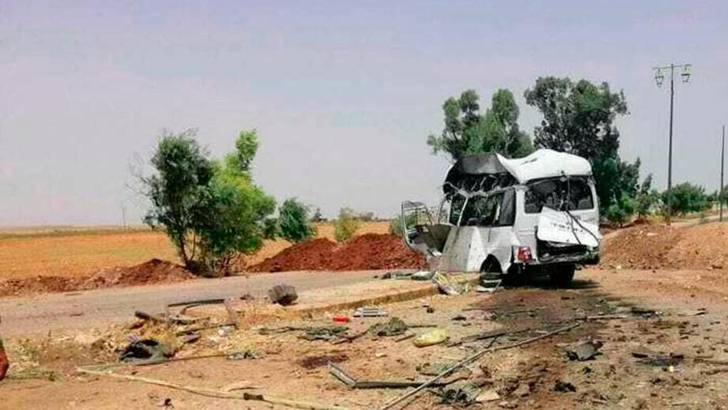 Al menos nueve muertos tras ataque contra vehículo del Ejército sirio - ataque ejército sirio