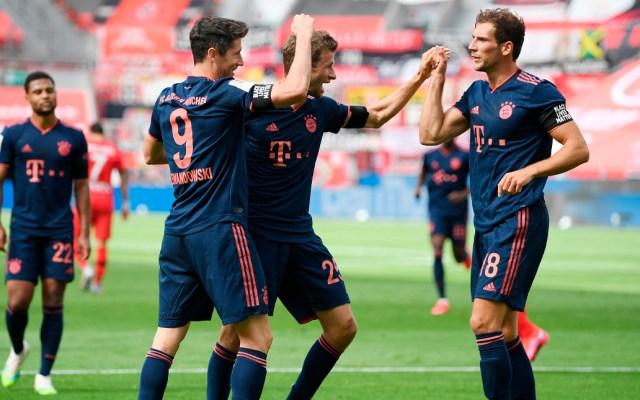 Bayern Múnich golea al Bayer Leverkusen y se acerca al título - Bayern Múnich golea al Bayer Leverkusen